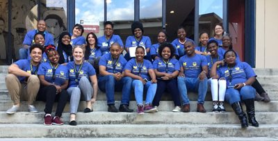 Students and faculty from University of Michigan - Flint and University of Fort Hare in South Africa
